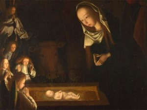 nativity, Jesus, love, light