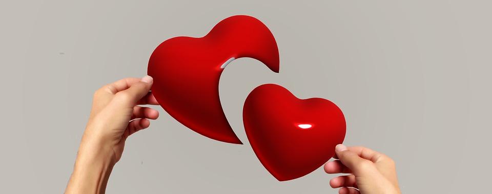 Hands Puzzle Love Separation Heart