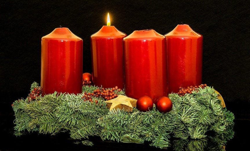 Christmas Jewelry Advent Candles Advent Wreath